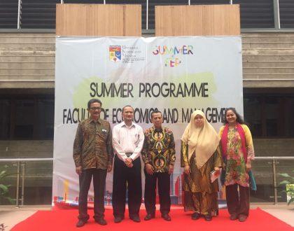 Dekan FEB Unja Hadiri Pembukaan Summer Programme UKM Malaysia