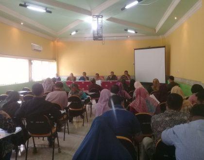 Rapat Persiapan Perkuliahan Semester Genap 2018/2019 Diawali Dengan Pembacaan Surat Yasin untuk Alm. Prof. Aulia Tasman