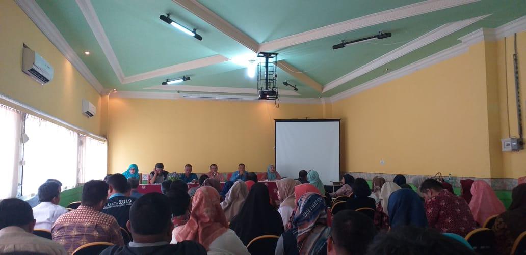 FEB UNJA Laksanakan Rapat Persiapan Semester Ganjil 2019-2020