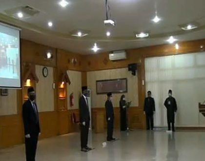 Dr. H. Junaidi, SE, M.Si Dilantik sebagai Dekan FEB Universitas Jambi