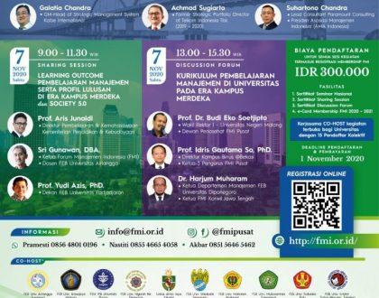 Prodi Manajemen UNJA Menjadi Co-Host Seminar Nasional FMI